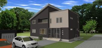 月形町 2世帯住宅完成 10月8日・9日 予約内覧受付中!