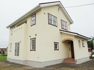 洋風デザインの家