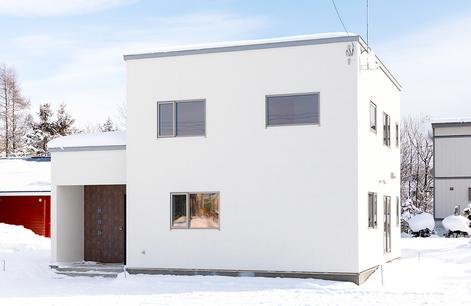 暮らしを快適にするデザインの家