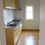 作業スペースが広くなり明るくなったキッチン